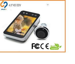 4.0 Inch Clear Image Electronic Door Eye Viewer With Easy Change Battery