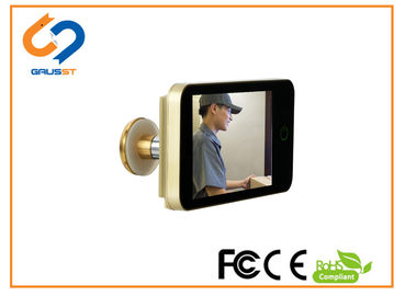 CE FCC ROHS Lookout Smart Door Viewer While Color Peep Holes For Front Doors